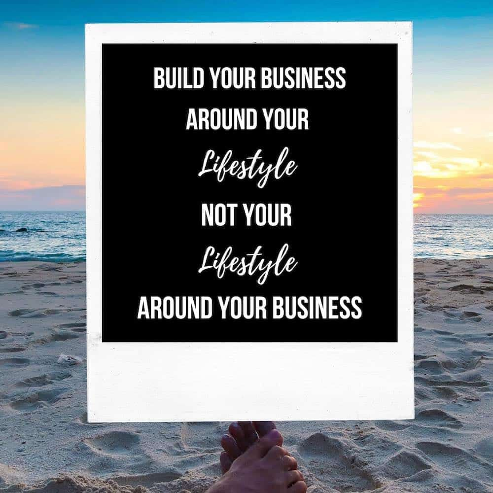 lifestyle business quote