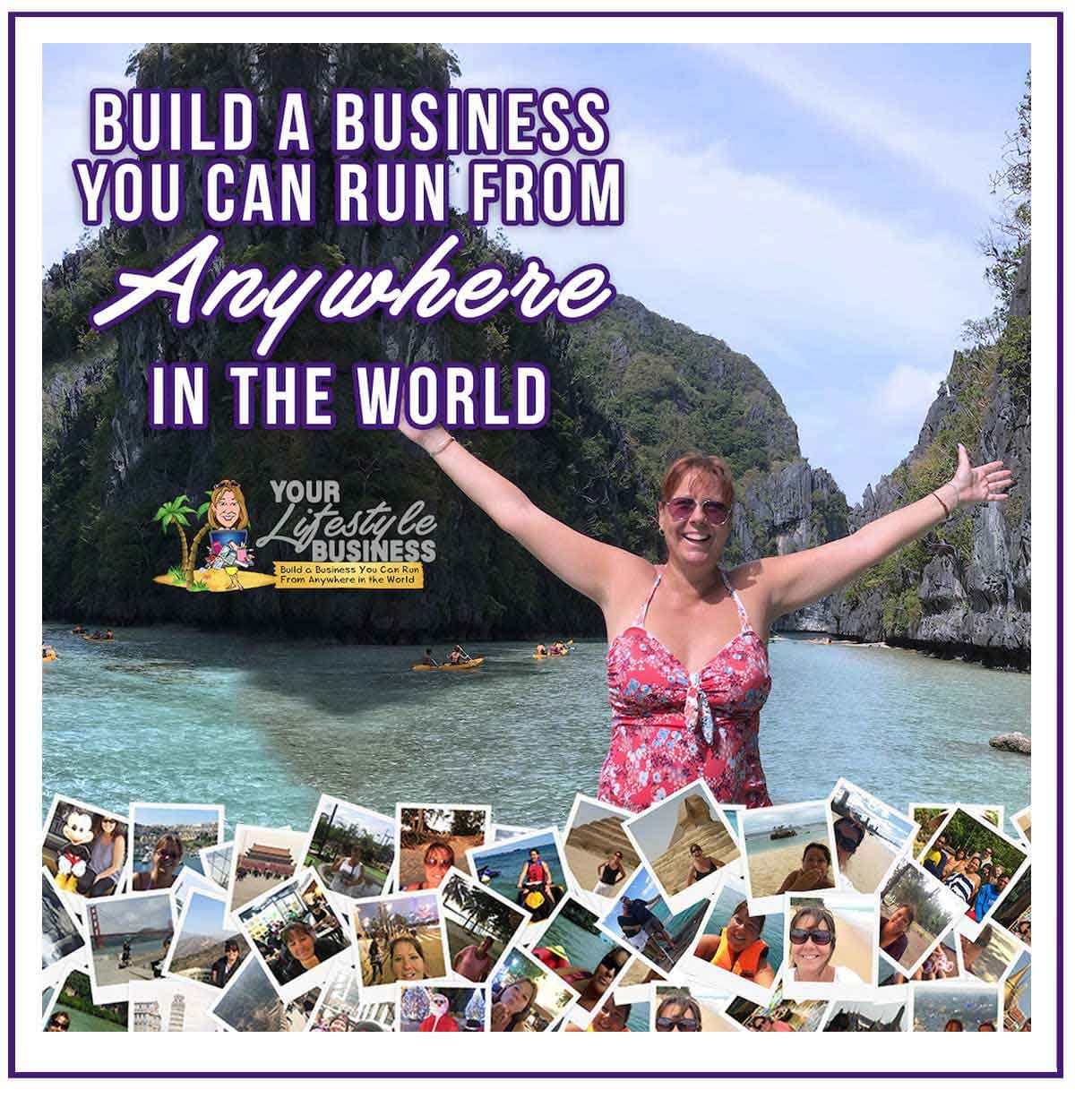 build a business anywhere in the world