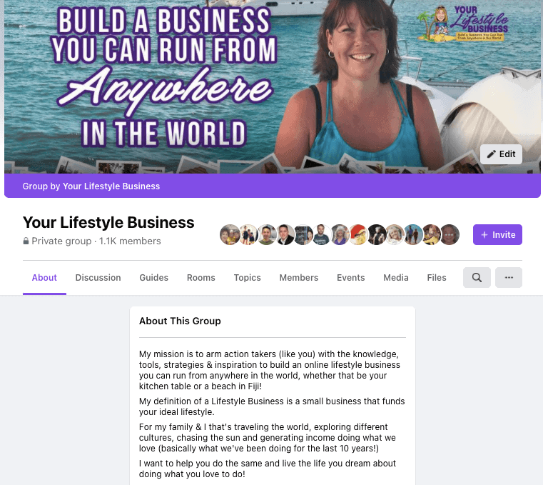Your Lifestyle Business Facebook group - join if you like reading Is Blogging Dead