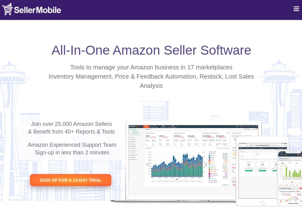 SellerMobile - Inventory Management, Price Amazon Automation and more