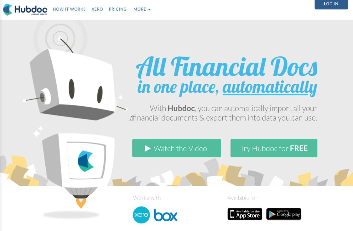 Hubdoc - Automated Financial Documents Import & Export