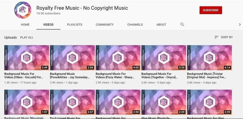 Royalty Free Music for video blogging on YouTube