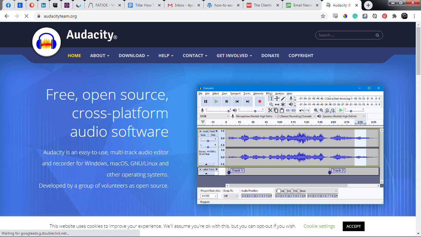 audacity recording software for podcasting