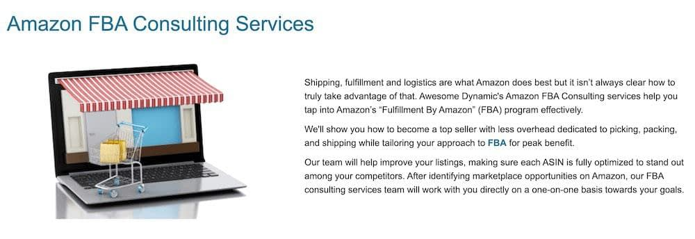 amazon fba consulting