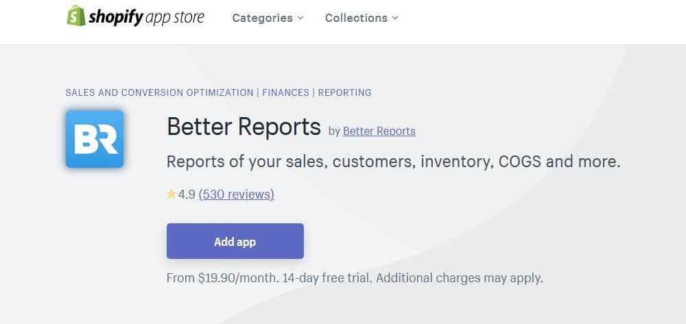 Better Reports – Ecommerce Reports Automation Plugins & Apps for Shopify