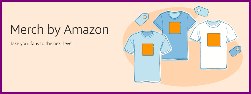 merch by amazon - lifestyle business idea