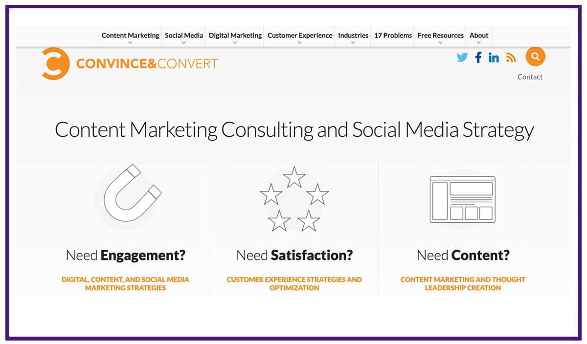 convince and convert content marketing agency
