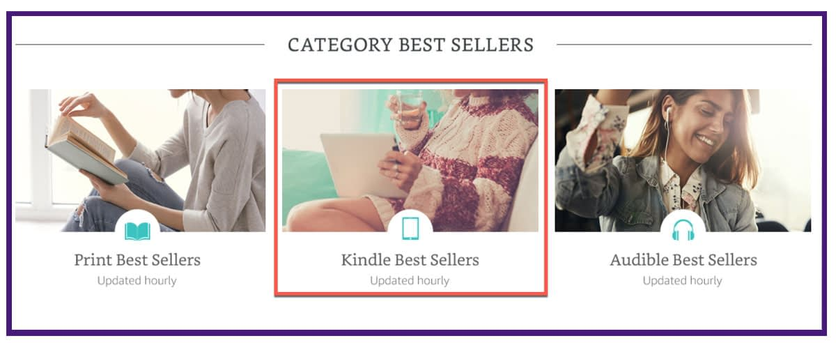 Kindle Best Sellers Updated Hourly